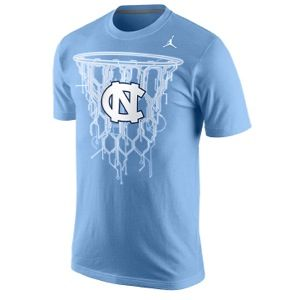 Nike College Tri Blend Net T Shirt   Mens   Basketball   Clothing   North Carolina Tar Heels   Valor Blue