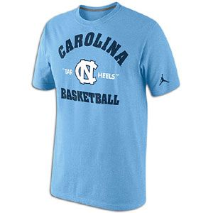 Nike College Tri Blend Road Warrior T Shirt   Mens   Basketball   Clothing   North Carolina Tar Heels   Valor Blue