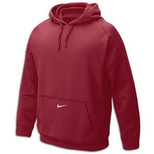Nike Team Tech Fleece Hoodie   Mens   For All Sports   Clothing   Dark Maroon/White