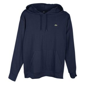 Lacoste Lacoste Jersey Hoodie L/S Tee   Mens   Casual   Clothing   Navy Blue