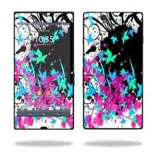 MightySkins Protective Vinyl Skin Decal Cover for Sony Xperia Z 4G LTE T Mobile Sticker Skins Leaf Splatter Cell Phones & Accessories