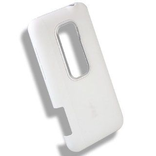 Original Genuine OEM White Back Rear Plate Battery Cover Door Repair Fix For HTC EVO 3D CDMA V 4G Shooter Cell Phones & Accessories