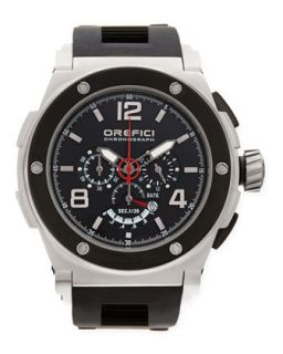 Mens Regata Yachting Edition Watch, Stainless Steel/Black   Orefici Watches