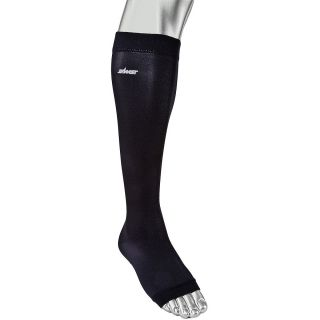 Zamst LC 1 Open Toe Long 2 pack Gradient Compression Calf Sleeves   Size Xl