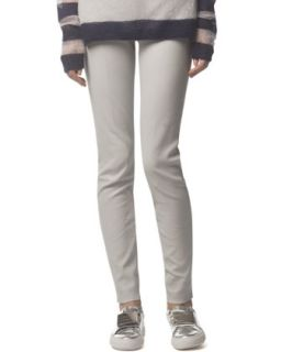 Womens Skinny Leather Pants, Bone White   Acne Studios   Bone white (36)