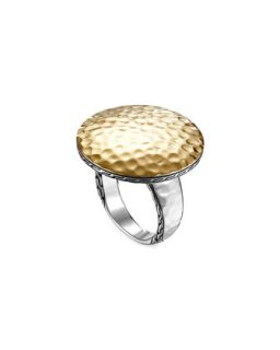 Palu Silver & Gold Round Ring   John Hardy   Silver/Gold (7)