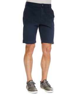 Mens Twill Chino Shorts, Navy   7 For All Mankind   Navy (30)