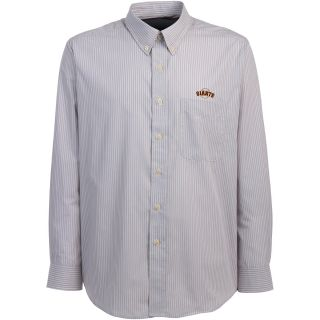 Antigua San Francisco Giants Mens Republic Button Down Long Sleeve Dress Shirt