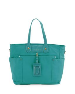 Eliz A Baby Preppy Nylon Diaper Bag   MARC by Marc Jacobs   Teal