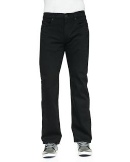 Mens Carsen Straight Leg Jeans   7 For All Mankind   Black (33)