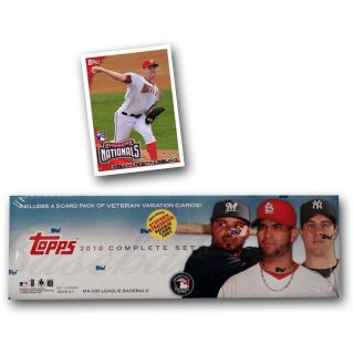 Topps 2010 MLB Factory Retail Baseball Card Set of 666 Cards (T10BBFS)