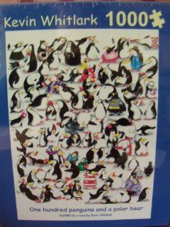 Kevin Whitlark 1000 One Hundred Penguins and a Polar Bear Toys & Games