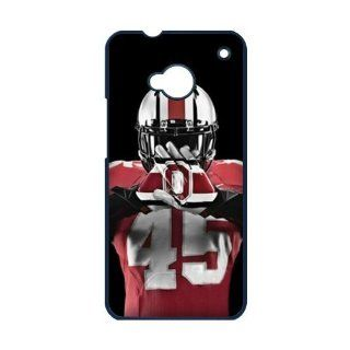 NCAA Ohio State Buckeyes Custom HTC M7 Best Durable Plastic Case By Every New Day Cell Phones & Accessories