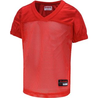 RIDDELL Boys Short Sleeve Football Practice Jersey   Size XS/Extra Small, Red