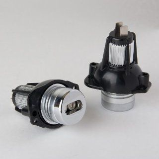 NOKYA High Power Angel Eye Light 6W LED 6000K HID White replacement bulbs for BMW E90/91 models. Automotive