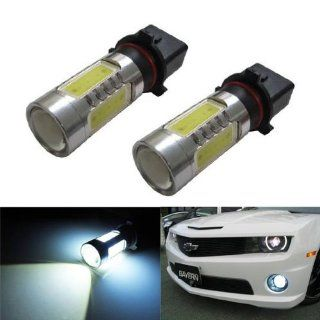 "iJDMTOY HID ""equivalent"" CREE Plasma High Power P13W LED Bulbs For Chevy Camaro (with HID headlight) for Daytime/Fog Lights, Xenon White Automotive"