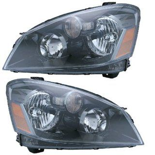 05 06 Nissan Altima HID Xenon Headlights Headlamps Head Lights Lamps Pair Set Automotive