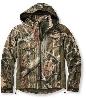 Mens  Big Game Windstopper Soft Shell Jacket, Camouflage