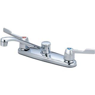Olympia Faucets K 5150 Two Handle Kitchen Faucet, Chrome Finish   Touch On Kitchen Sink Faucets