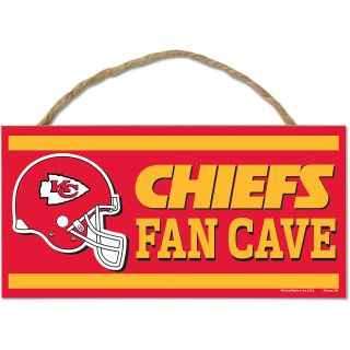 Wincraft Kansas City Chiefs 5X10 Wood Sign with Rope (83031013)