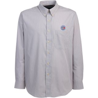 Antigua Toronto Blue Jays Mens Republic Button Down Long Sleeve Dress Shirt