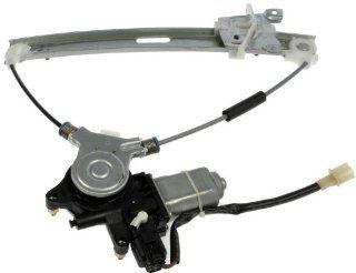 Dorman 748 713 Mazda Tribute Rear Passenger Side Power Window Regulator with Motor Automotive
