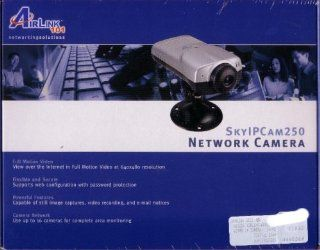 Airlink SKYIPCam250 Wired Network IP Security Camera Built in web server  Bullet Cameras  Camera & Photo