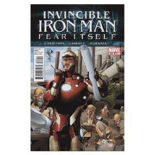 Invincible Iron Man, Fear Itself, No. 506 Marvel Books