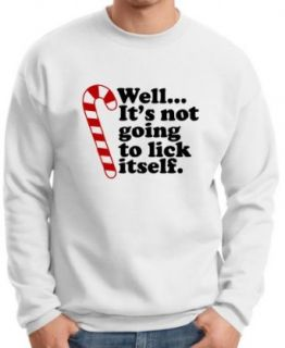 It's Not Going to Lick Itself Premium Crewneck Sweatshirt Clothing