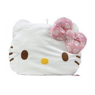 Giant Hello Kitty Princess Rose Face Cushion Pillow   Pink Bow Toys & Games