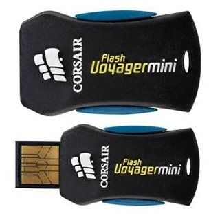 Corsair 8gb Flash Voyager Mini Usb Flash Drive External Cap Less Retractable Connector Computers & Accessories