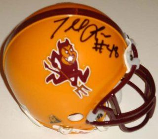 Terrell Suggs Autographed Mini Helmet   Arizona State Sun Devils   Autographed College Mini Helmets at 's Sports Collectibles Store