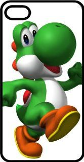 Yoshi Strolling To Eat Some Apples Black Plastic Case for Apple iPhone 5 Cell Phones & Accessories