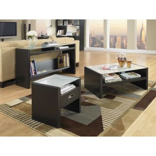 kathy ireland Office by Bush Furniture New York Skyline Coffee Table Set with Options   Coffee Table Sets