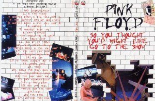 "Pink Floyd ""So You Thought You'd Might Like To Go To The Show""DVD Rare Live Movies & TV"