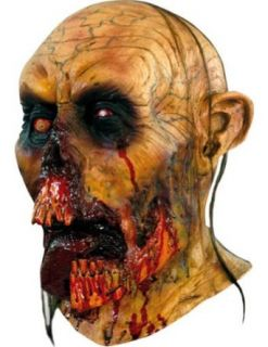 Scary Masks Zombie Tongue Mask Halloween Costume   Most Adults Clothing