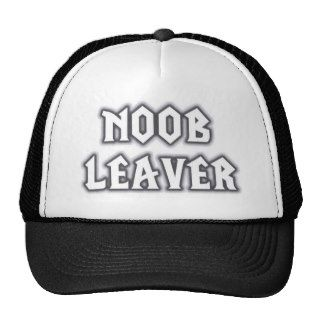 Noob Leaver DotA Cap Trucker Hat