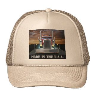 Made in the U.S.A. Custom Peterbilt Trucker Hat