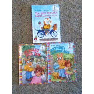 I Can Read All By Myself Richard Scarry The Best Mistake Ever (And Other Stories) Arthur's Reading Race, Glasses for D.W. (I Can Read All By Myself Beginner Book) Marc Brown, Richard Scarry Books