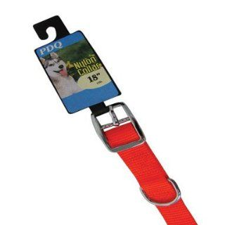 "Boss Pet Products 1971824 Dog Collar Nylon 3/4""x18""   Orange"