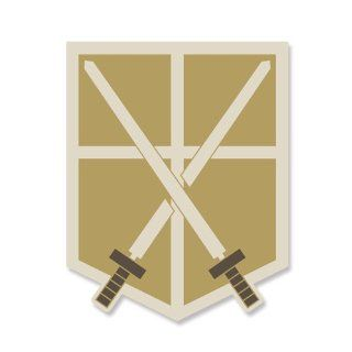 Attack on Titan training corps emblem (japan import) Toys & Games