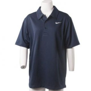 Nike Golf 351918 Dri Fit Blue Men's Polo Shirt Size Small Clothing