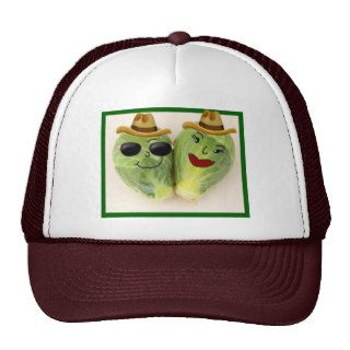 Funny Brussel Sprouts Pair Trucker Hat