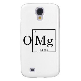 OMG   Magnesium   Mg   periodic table Galaxy S4 Case