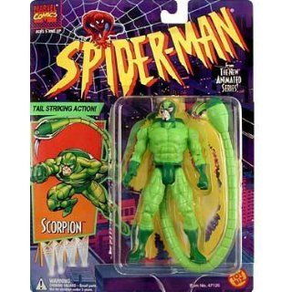 Marvel Comics Spider Man The New Animated Series Scorpion Toys & Games