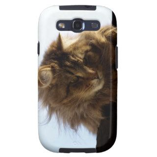 Maine Coon Cat Pet Phone Case Samsung Galaxy S3 Cover