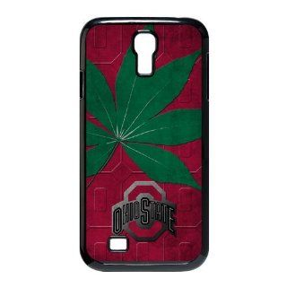 OSU NCAA Ohio State Buckeyes HardShell Faceplate Protector Case Cover Slim fit For Samsung Galaxy S4 I9500 Cell Phones & Accessories
