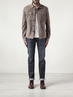 Brunello Cucinelli Button Up Jacket   Mario's