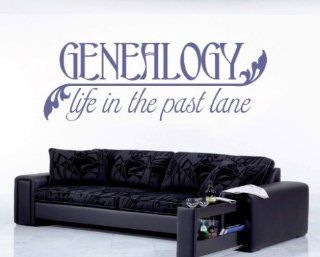 Genealogy Life in the Past Lane Sports Hobbies Outdoor Vinyl Wall Decal Sticker Mural Quotes Words Hb008   Other Products