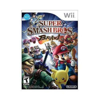 New Nintendo Super Smash Bros Brawl Action/Adventure Game Wii Excellent Performance High Quality Video Games